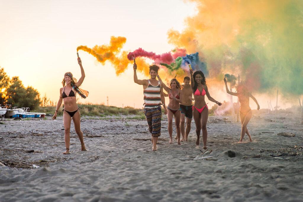 uitnodiging beach party verjaardag
