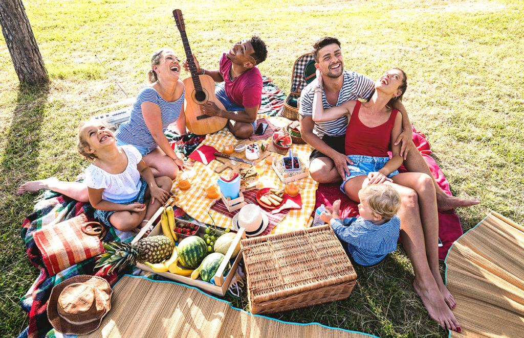 picknick thema feest