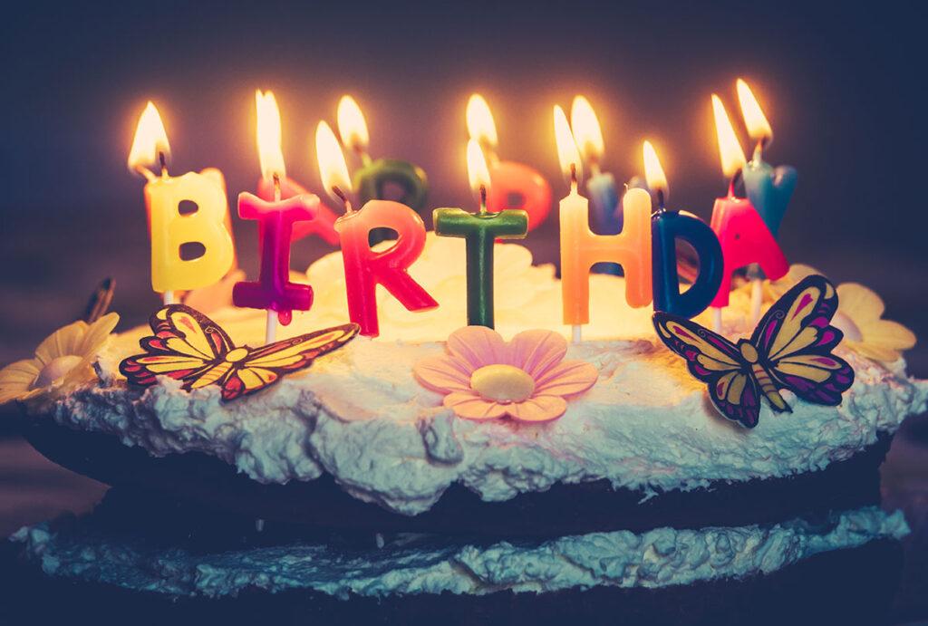 verjaardag taart tips